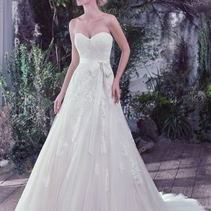 Maggie Sottero sale wedding dress, Lindsey
