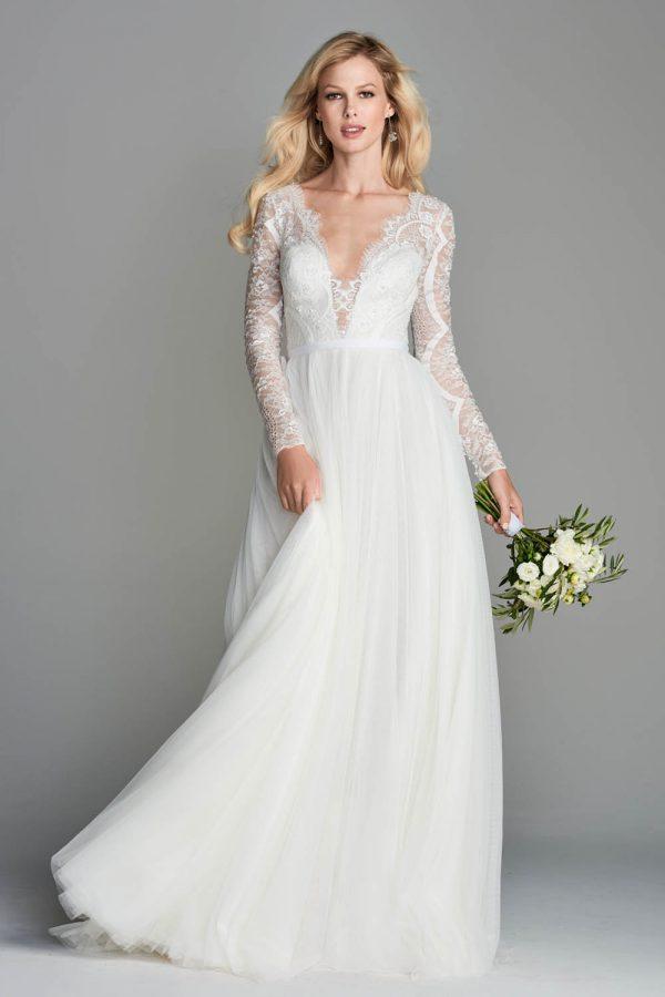 Watters Wtoo sale wedding dress, Nahara