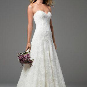 Watters Wtoo sale wedding dress, Soleil