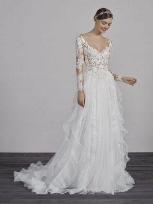 Pronovias sale wedding gown, Essien