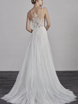 Pronovias sale wedding dress, Estepa
