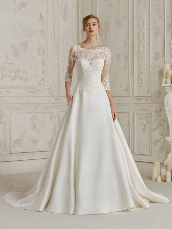 Pronovias sale wedding gown, Malibu