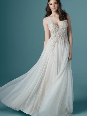 Maggie Sottero sale wedding dress, Meletta