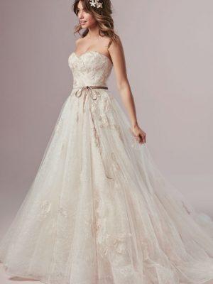 Rebecca Ingram sale wedding dress, Summer